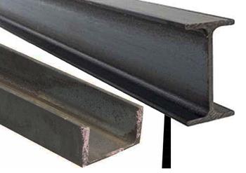 Structural Steel supplies - PFC, UB, UC